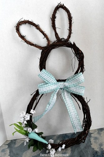 Grapevine Bunny Wreath