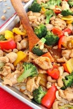 Healthy Cashew Chicken