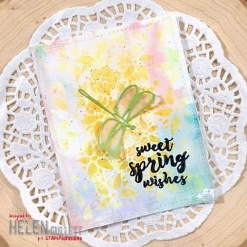 Spring Mixed Media Card