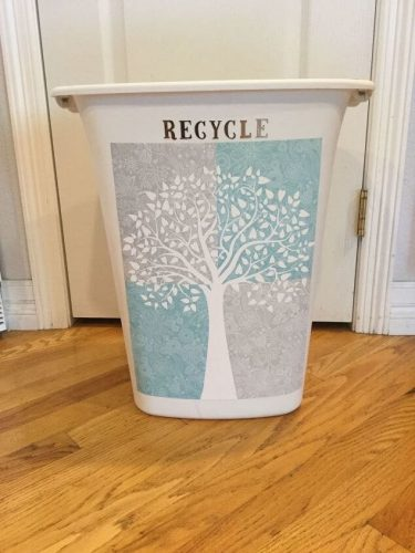 Upcycled Trash Can