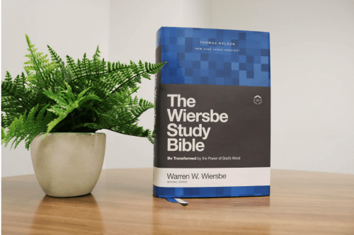 Wiersbe Study Bible - Feature Photo