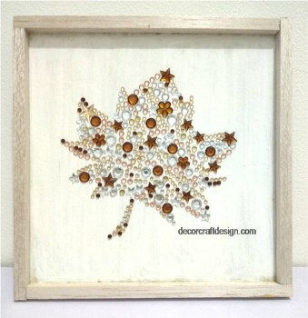 Sparkle Maple Leaf