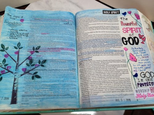 Amy's Creative Pursuits - Bible Journaling