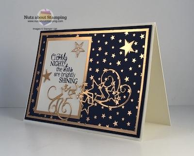 Glitzy Christmas Cards