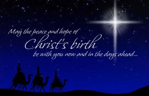 Christmas Peace And Hope