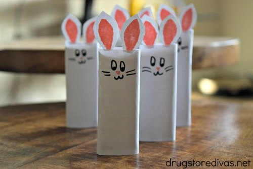1-DIY Easter Bunny Candy Bars