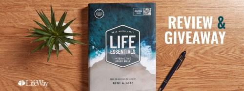 Life Essentials Giveaway Banner