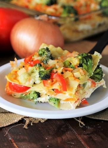 Vegetable-Lasagna-with-Broccoli
