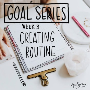Creating Routine