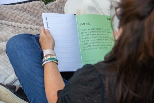 Spiritual Seeds Planner Prayer Page w Girl