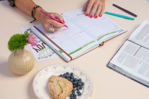 Spiritual Seeds Planner Weekly Layout