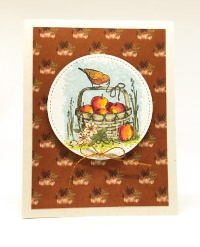 Autumn Birds Card
