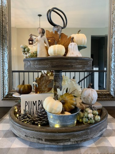 Fall Entryway Decorations