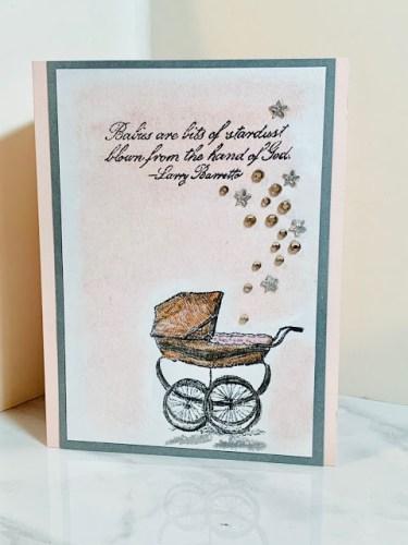 Handmade Baby Shower Card