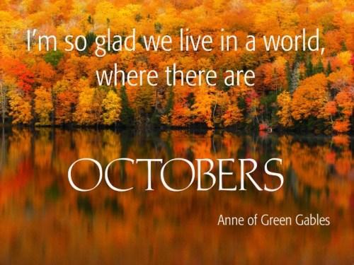 October - I'm So Glad