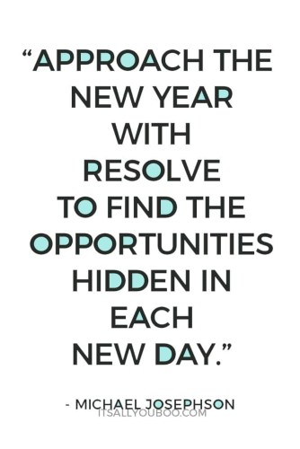 Approach The New Year