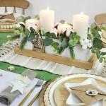Christmas Farm Tablescape