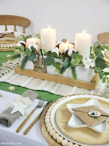 Christmas Farm Tablescape