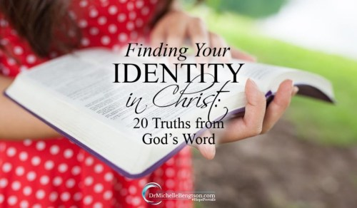 Find Your Identity In Christ