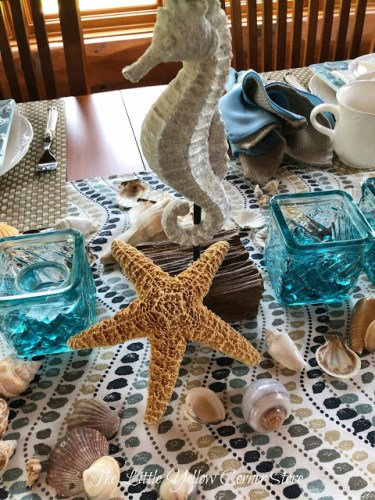 Playing In Waves Tablescape