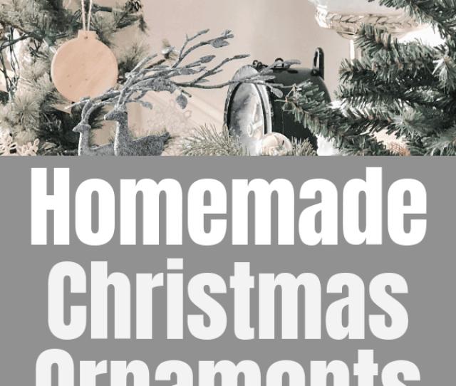 Homemade Christmas Ornaments Homemade Christmas Ornaments You Can Make Using Basic Supplies Two Easy Christmas Crafts Using Wood