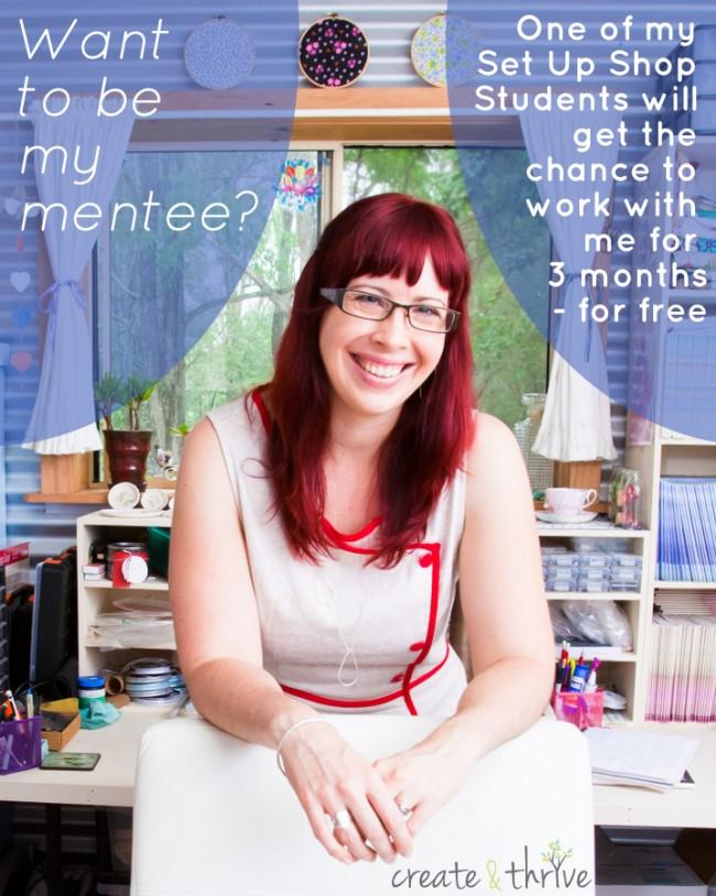 Jess Van Den - Mentor Mentee