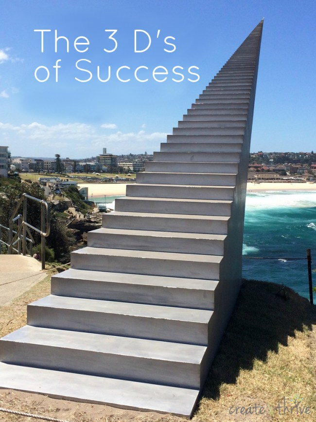 3 Ds of success