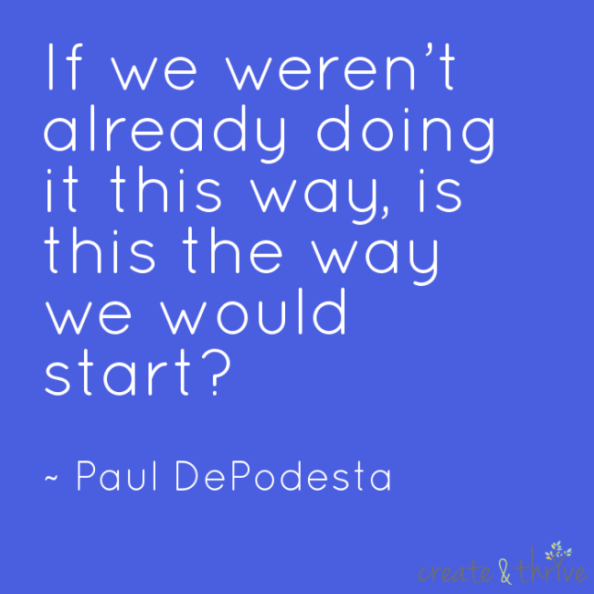 Paul DePodesta Starting Quote