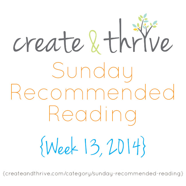 recommended reading week 13