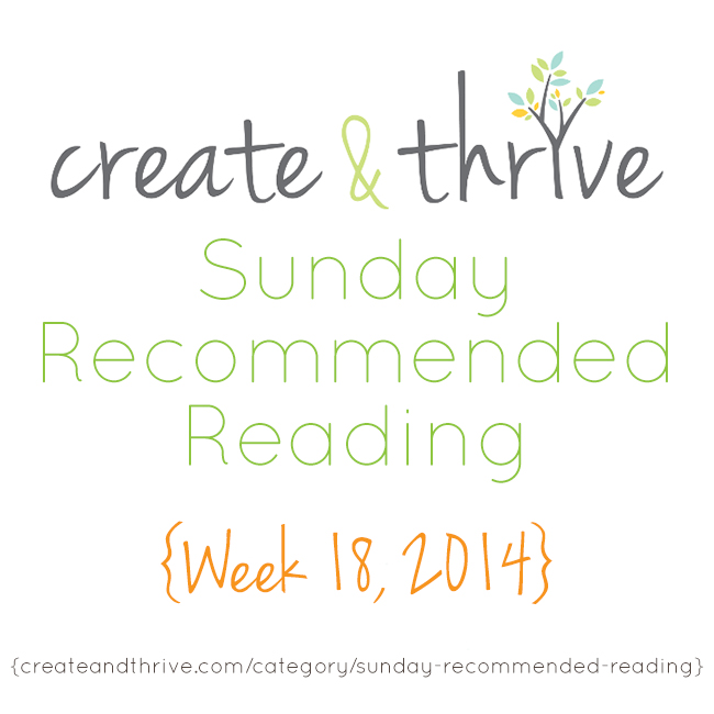 recommended reading week 18