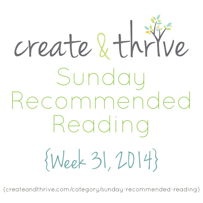 recommended reading week 31