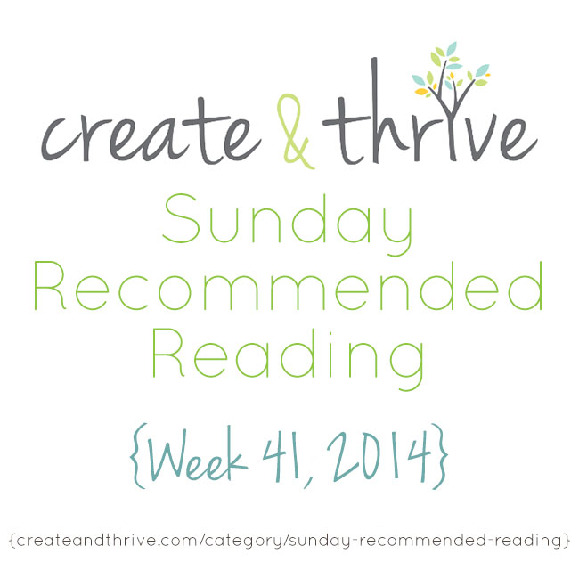 recommended reading week 41