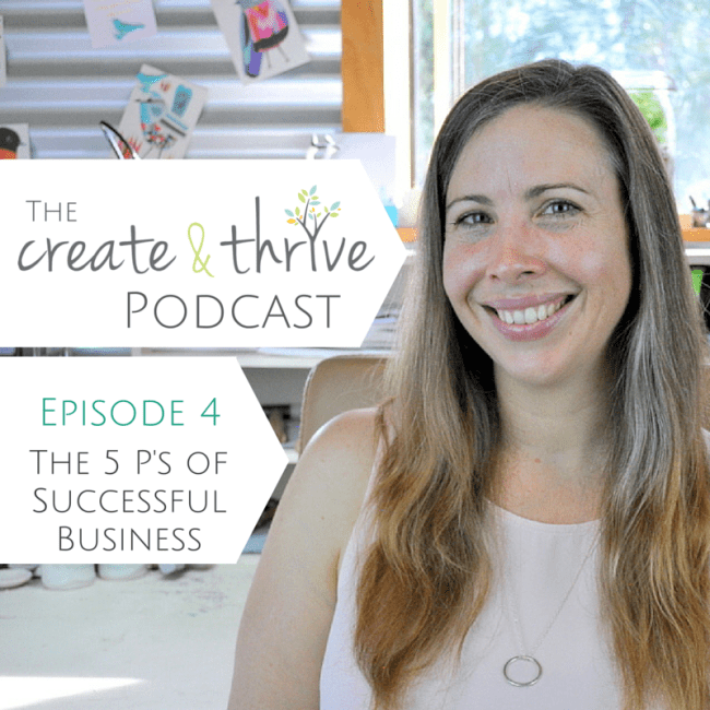The Create & Thrive Podcast - Episode 4