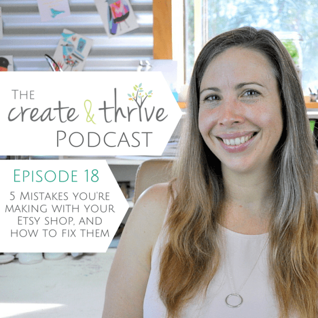 The Create & Thrive Podcast - Episode 18