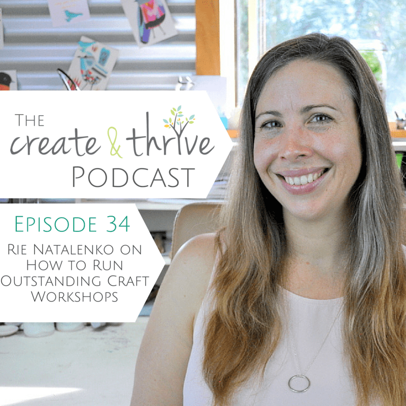 Ep 34 - Create & Thrive Podcast 1