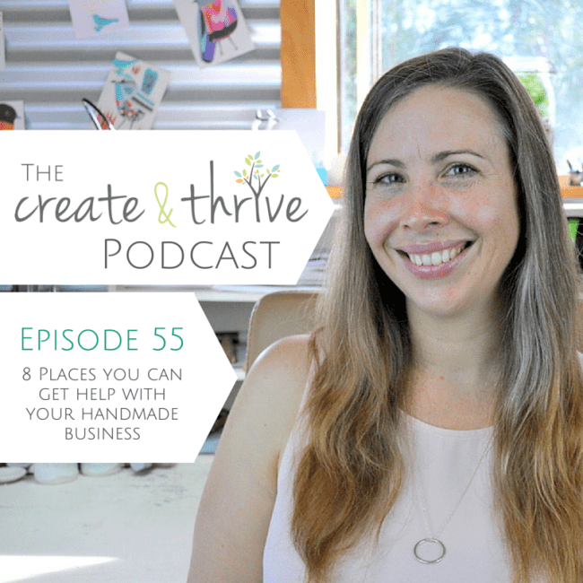 Ep 55 - Create & Thrive Podcast