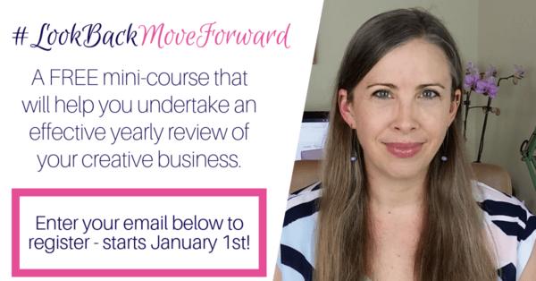 #LookBackMoveForward – a FREE mini-course!