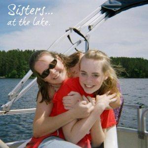 sisters-at-the-lake