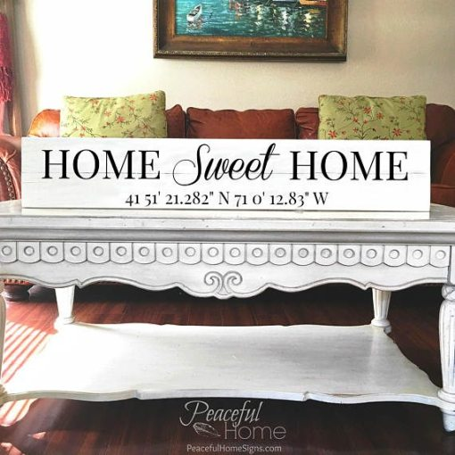 Home Sweet Home | Reclaimed Wood Sign