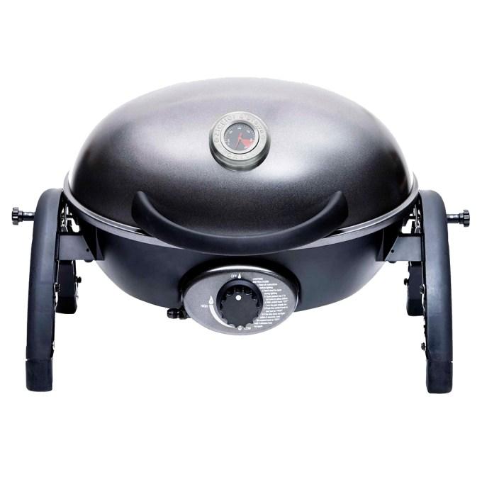 Ziegler & Brown Portable Grill in Gunmetal Grey