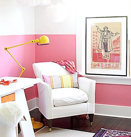 Trend Alert: Two-Tone Walls. - Color Zen