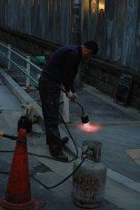 concrete-flame