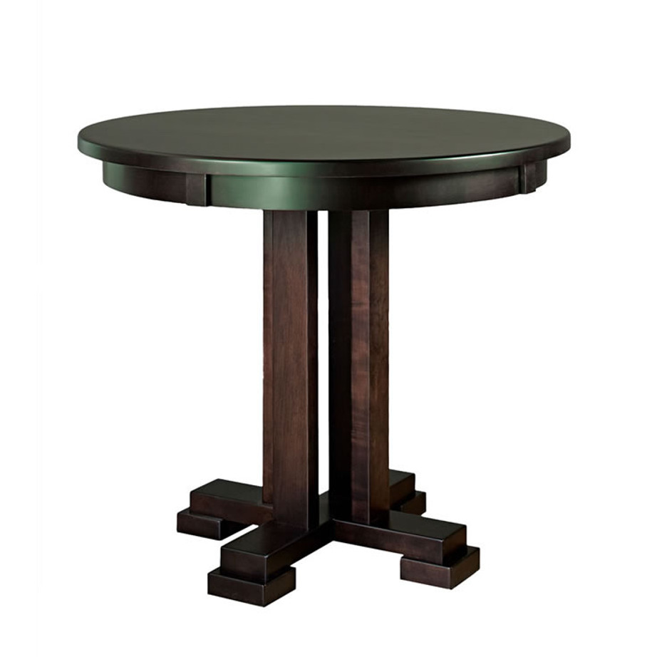 42 Round Dining Table Rustic