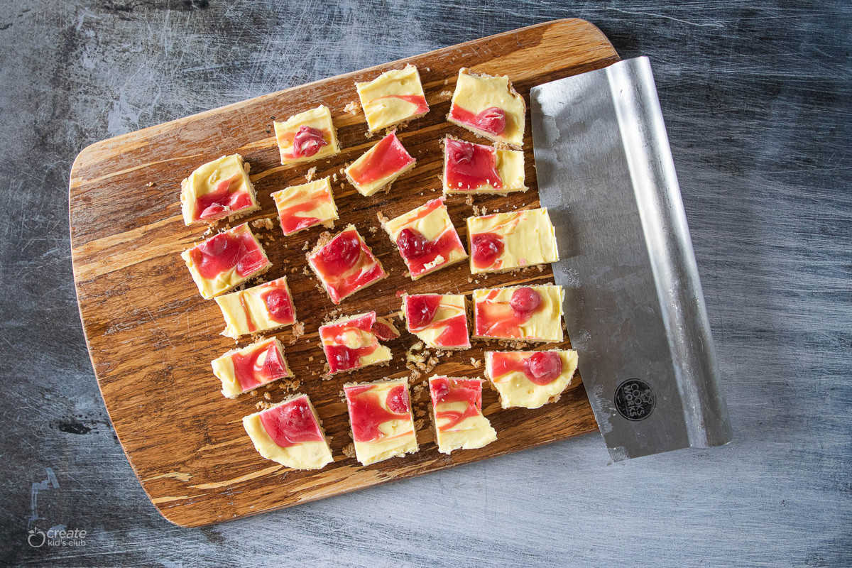 frozen cherry pie filling cheesecake bites