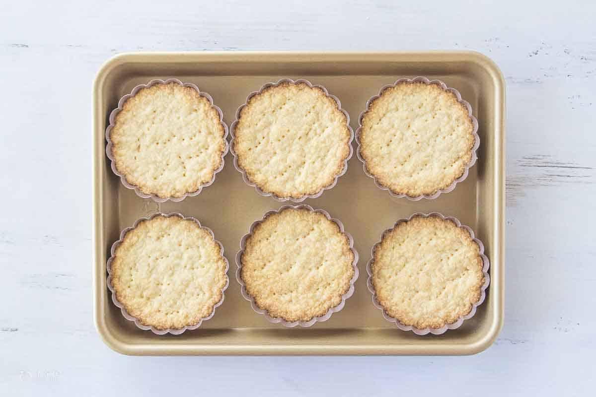 baked gluten free fruit tart crust