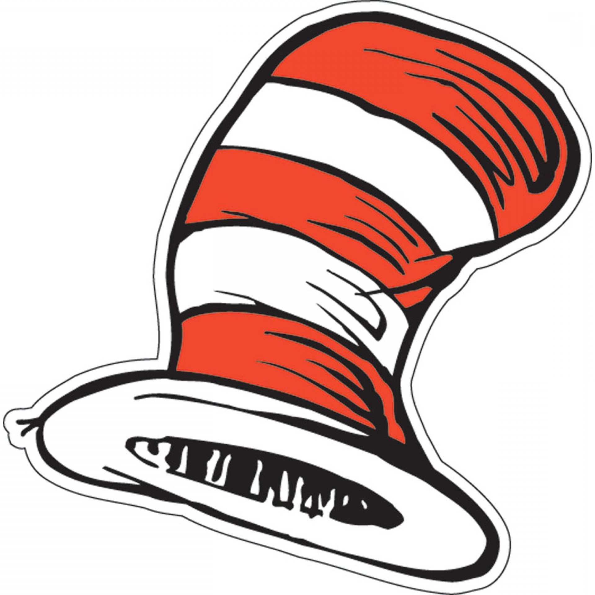 Dr Seuss Hat Vector
