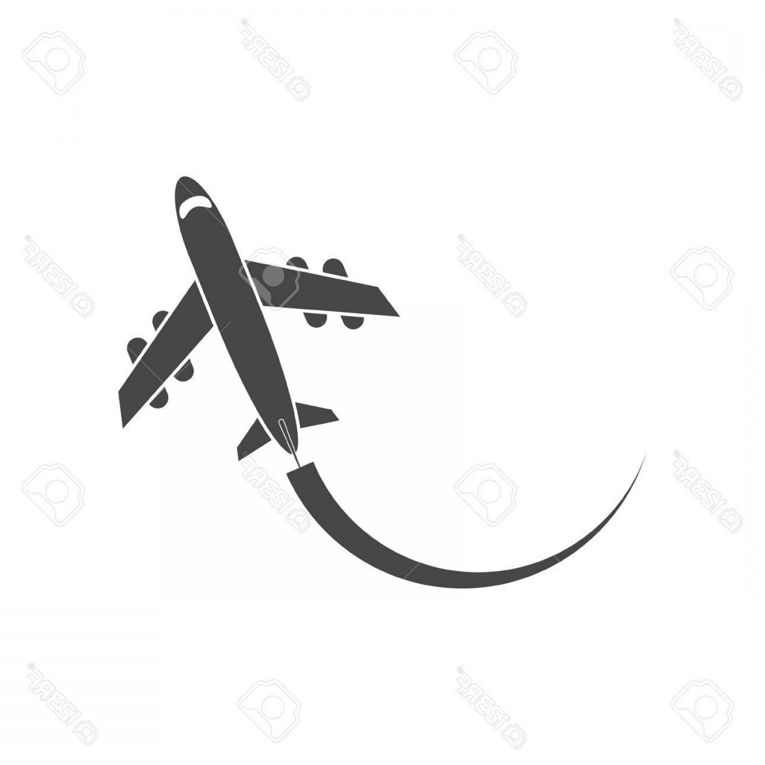 Airplane Travel Vectors