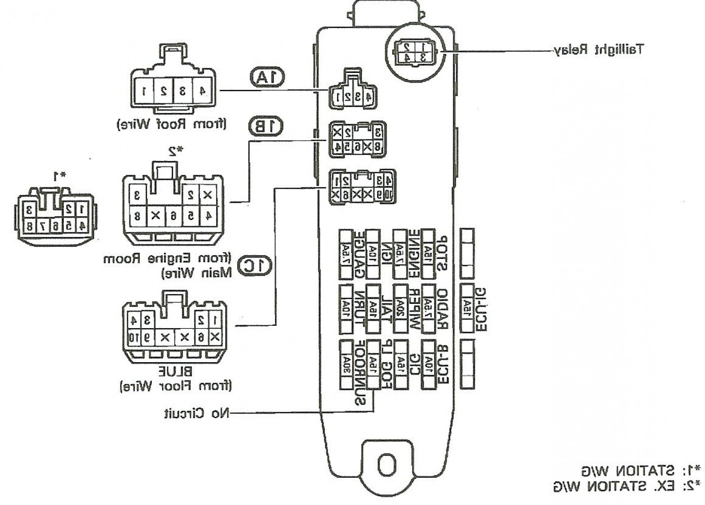 2003 Toyota Sequoia Wiring Diagram