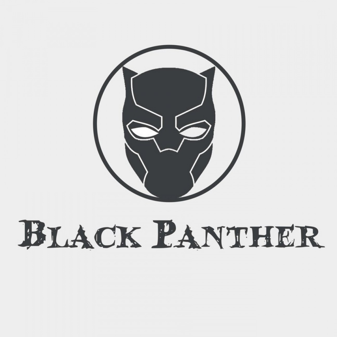 Vector Black Panther Face Logo Byentry