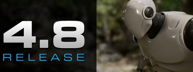 Unreal Engine 4.8 quoi deneuf?